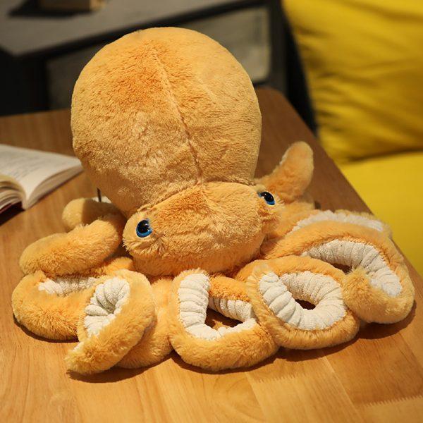 Peluche pieuvre poulpe