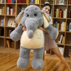Doudou éléphant géant