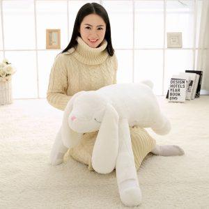 Peluche géante lapin