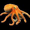 Peluche pieuvre géante