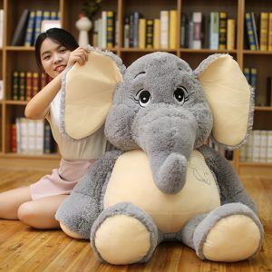 Peluche géante éléphant