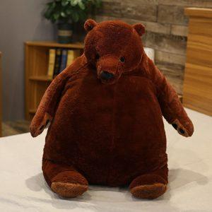 Gros ours en peluche