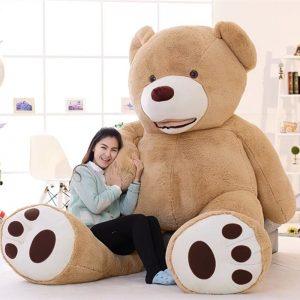 Géant ours en peluche