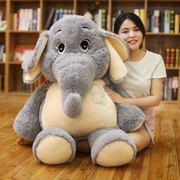 Doudou géant éléphant