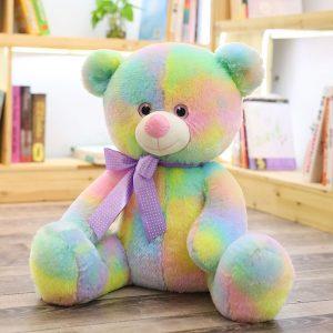 Ours en peluche multicolore