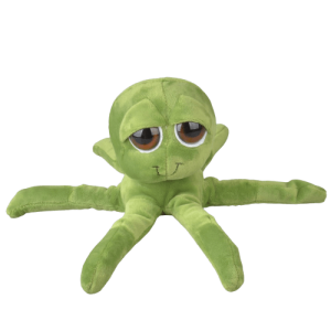 Monstre peluche pieuvre