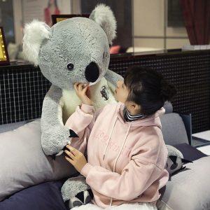 Koala géant en peluche