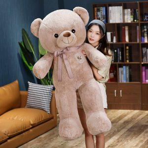 Gros teddy bear marron