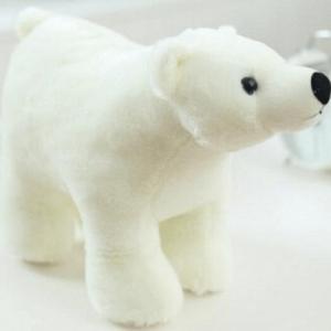 Ours polaire en peluche