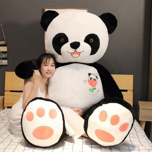 Peluche panda géant 100 cm