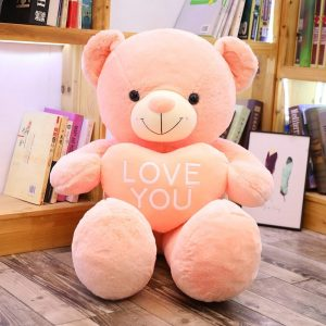 urs en peluche géant i love you