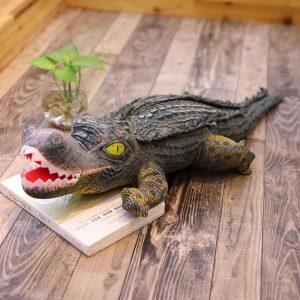 Crocodile peluche géante
