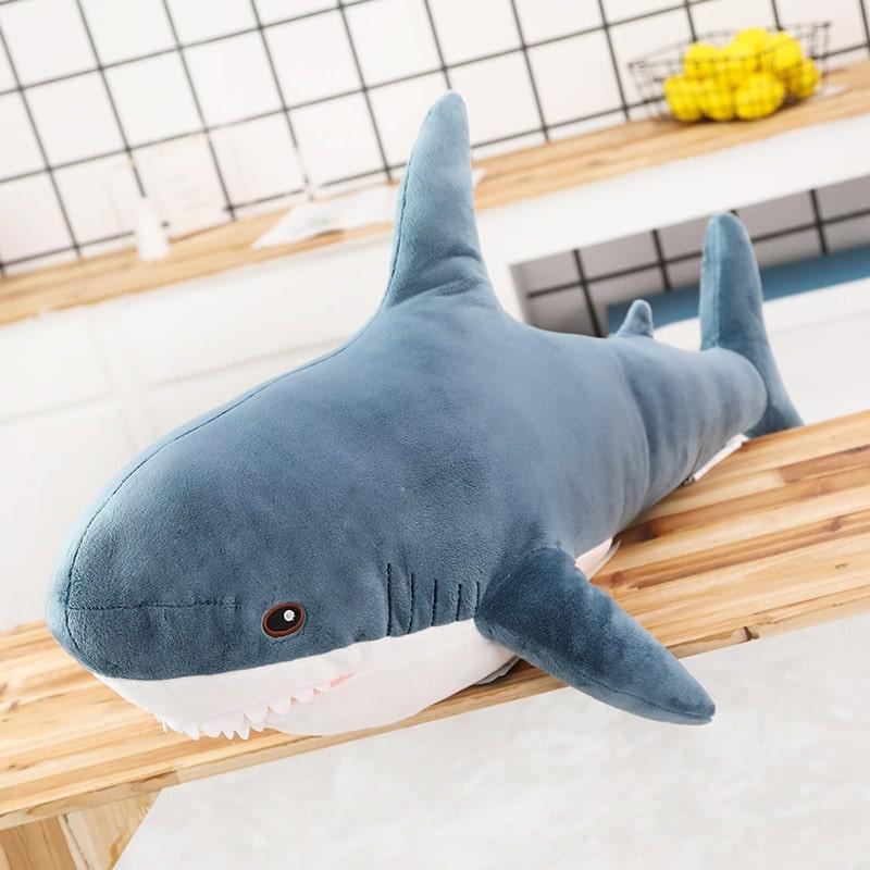 Peluche géante requin blanc
